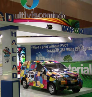 Multiviscomindo at FGD Expo 2011